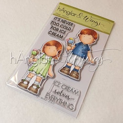 Clear Stamps - Glassigt / Ice Creamy