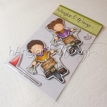 Clear Stamps - Cyklister / Cyclists