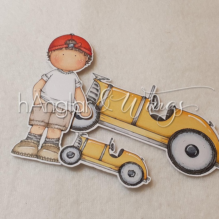 Clear Stamps - Not so hot Rod