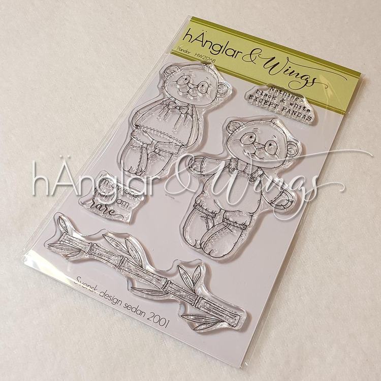 Clear Stamps - Pandor