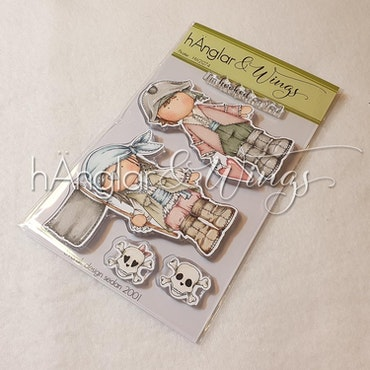 Clear Stamps - Pirater / Pirates