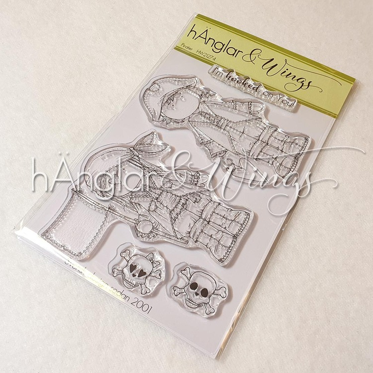 Clear Stamps - Pirater