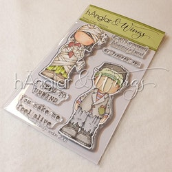 Clear Stamps - Mummy & Frank