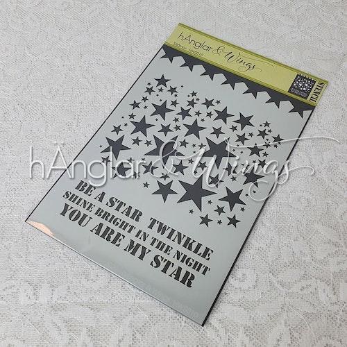 Stencil - Stjärnor / Stars