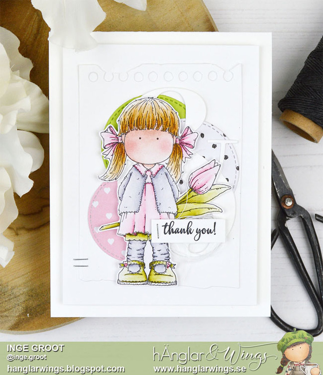 Clear Stamps - Tulpanflicka  A7