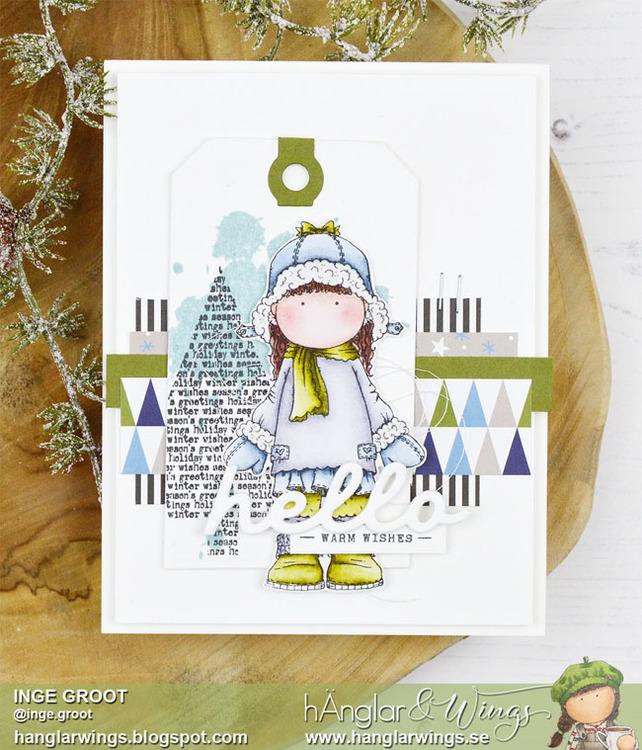 Clear Stamps - Vintergranar / Winter trees