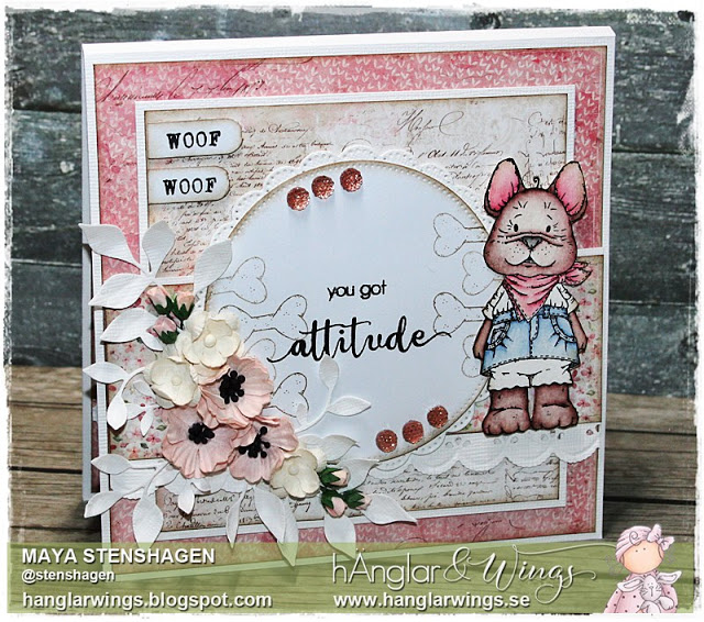 Clear Stamps - Fia och Frans