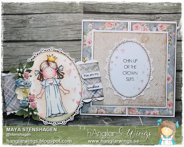 Clear Stamps - Prins och Prinsessa