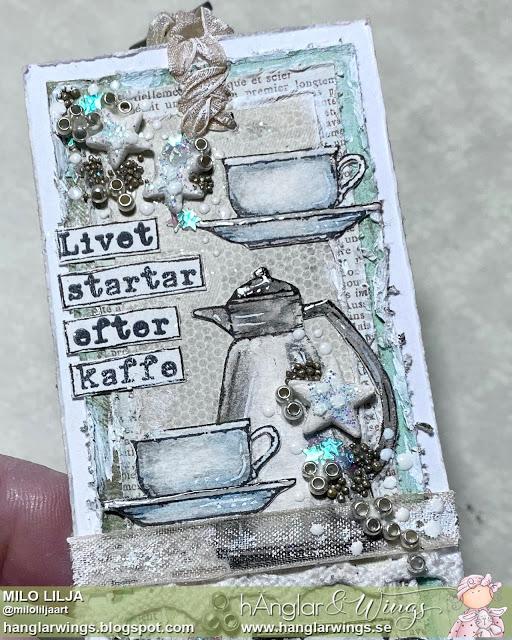 Clear Stamps - Kaffe och Choklad