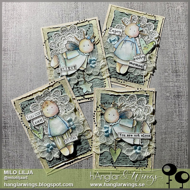Clear Stamps - Retro #1  A7