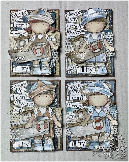 Clear Stamps - Sjöbarn