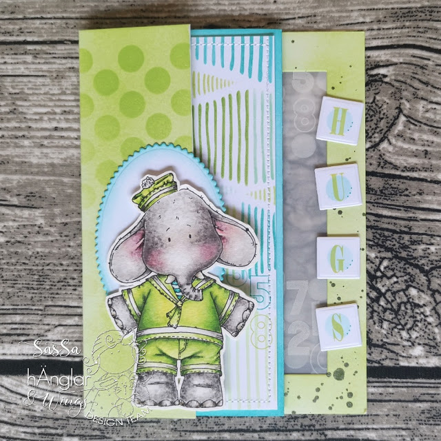 Clear Stamps - Ellie och Ante