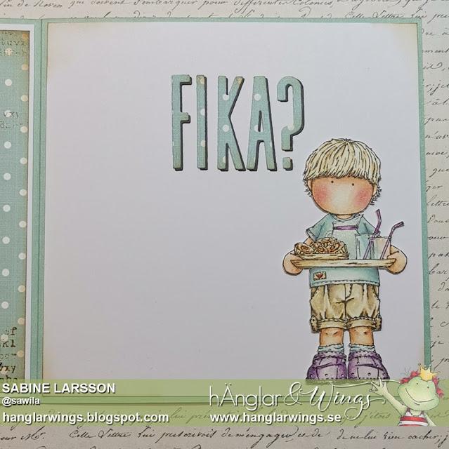 Clear Stamps - Fika-Fredrik