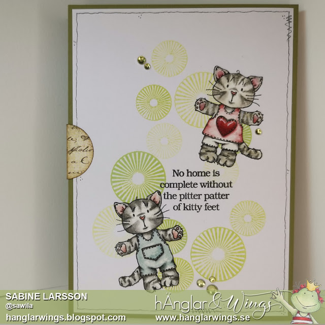 Clear Stamps - Kattungar / Kittens - A7
