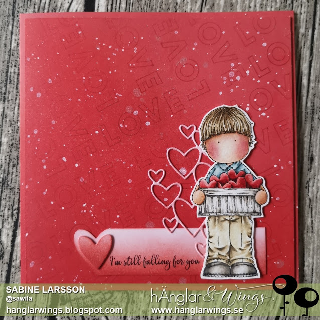 Clear Stamps - Hjärtan i Låda / Hearts in a box