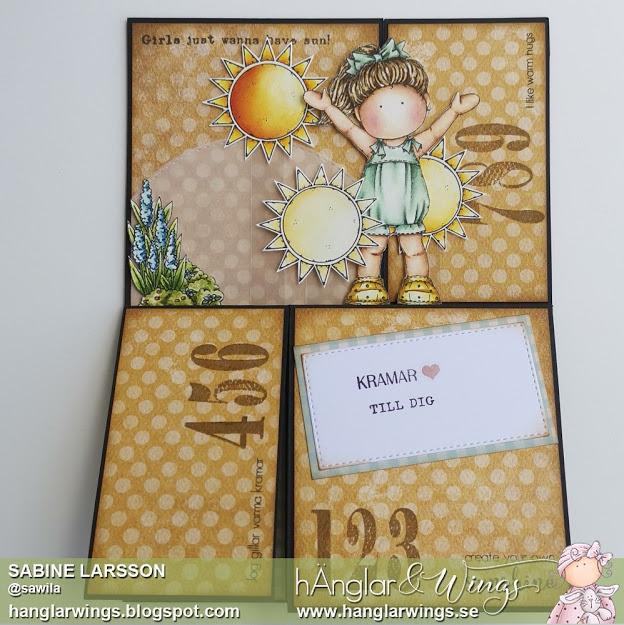 Clear Stamps - Sara och Margareta