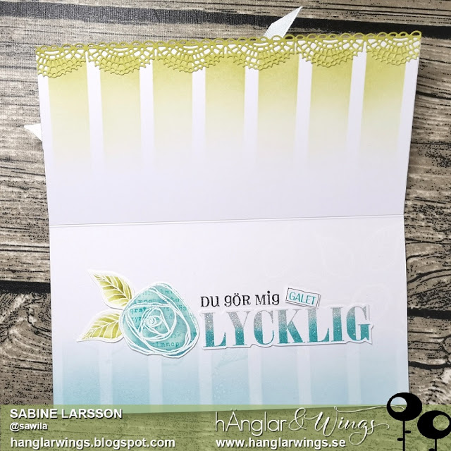 Clear Stamps - Rosor / Roses