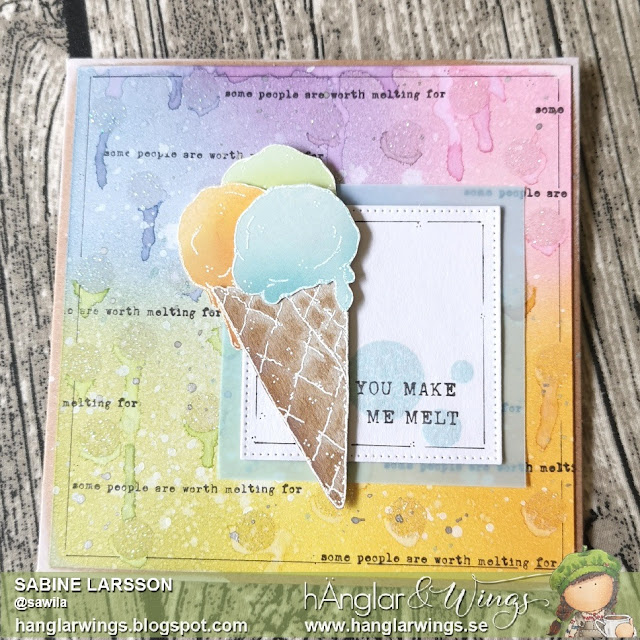 Clear Stamps - Glass i stora lass A7