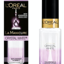 L'Oréal Serum 2-in-1 Base Coats-Crystal White