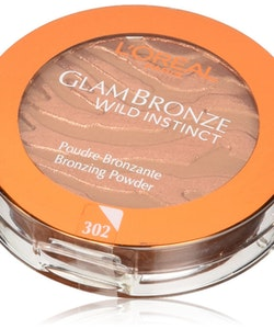 L'Oreal Glam Bronze Wild Instinct Bronzing Powder SPF10-Medium