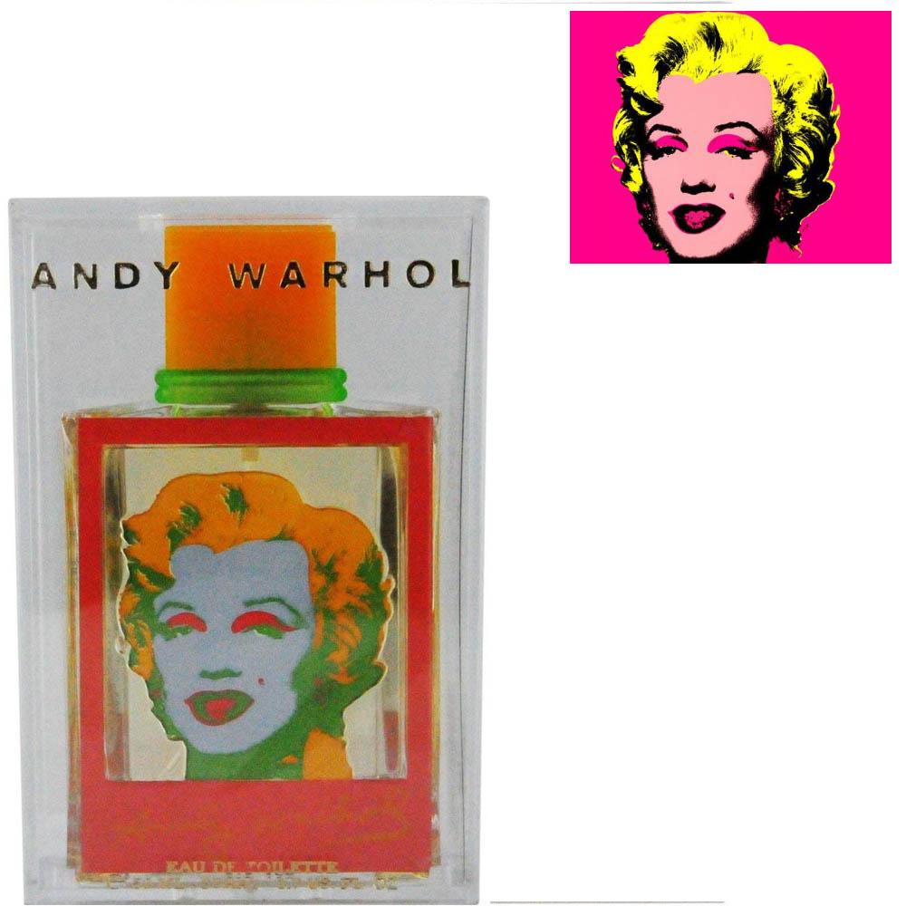 Andy Warhol Marilyn Monroe PINK EDT 50ml