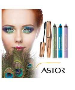 Astor 24Hr Perfect Stay WATERPROOF Eyeshadow&Liner-Deep Purple