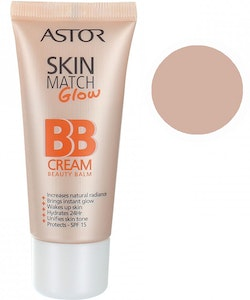 Astor Skin Match Glow BB Cream SPF 15 - 100 Ivory