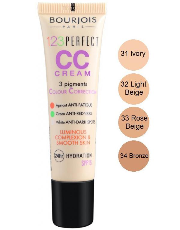 Bourjois 123 Perfect CC Cream - Rose Beige