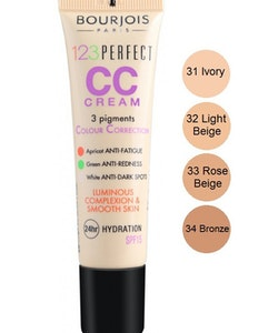 Bourjois 123 Perfect CC Cream SPF 15 - Light Beige
