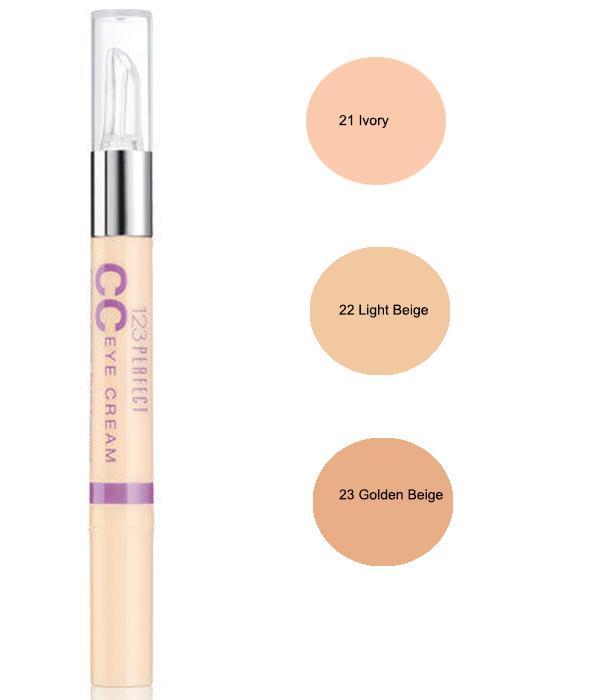 Bourjois 123 Perfect CC Eye Cream Concealer - Light Beige