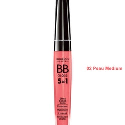 Bourjois BB Lip Gloss 5 in i - 02 Peau Medium