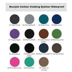Bourjois Contour Clubbing Eyeliner Waterproof - 59 Dynamint