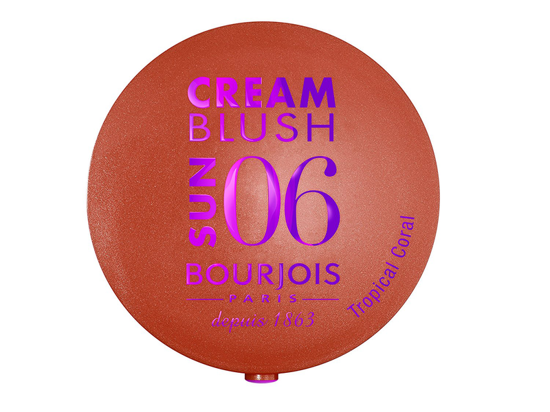 Bourjois Cream To Powder Blush - Tropical Coral