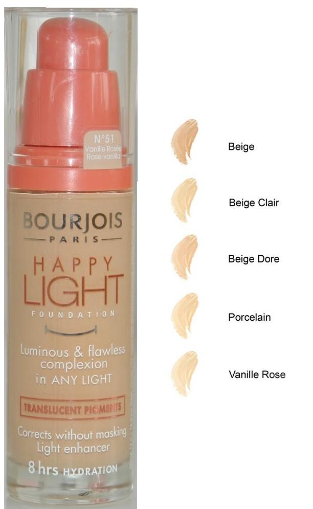 Bourjois Happy Light Foundation - Rose Vanilla