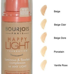 Bourjois Happy Light Foundation - Rose Vanilla