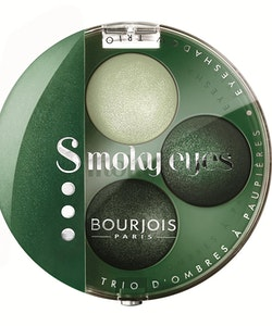 Bourjois Intense Smoky Trio-1 Eyeliner & 2 Eyeshadows Palette-08 Vert Trendy