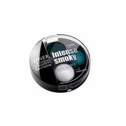 Bourjois Intense Smoky Trio-1 Eyeliner & 2 Eyeshadows Palette-63 Pagon élégant