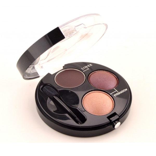 Bourjois Intense Smoky Trio-1 Eyeliner & 2 Eyeshadows Palette-61Rosé Twisté