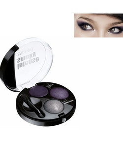 Bourjois Intense Smoky Trio-1 Eyeliner & 2 Eyeshadows Palette-Violet Constelle