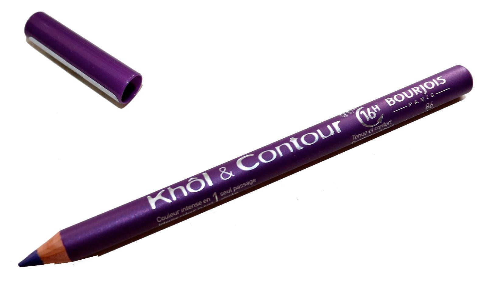 Bourjois Khol & Contour 16h Eyeliner Pencil - 86 Violet Malicieu