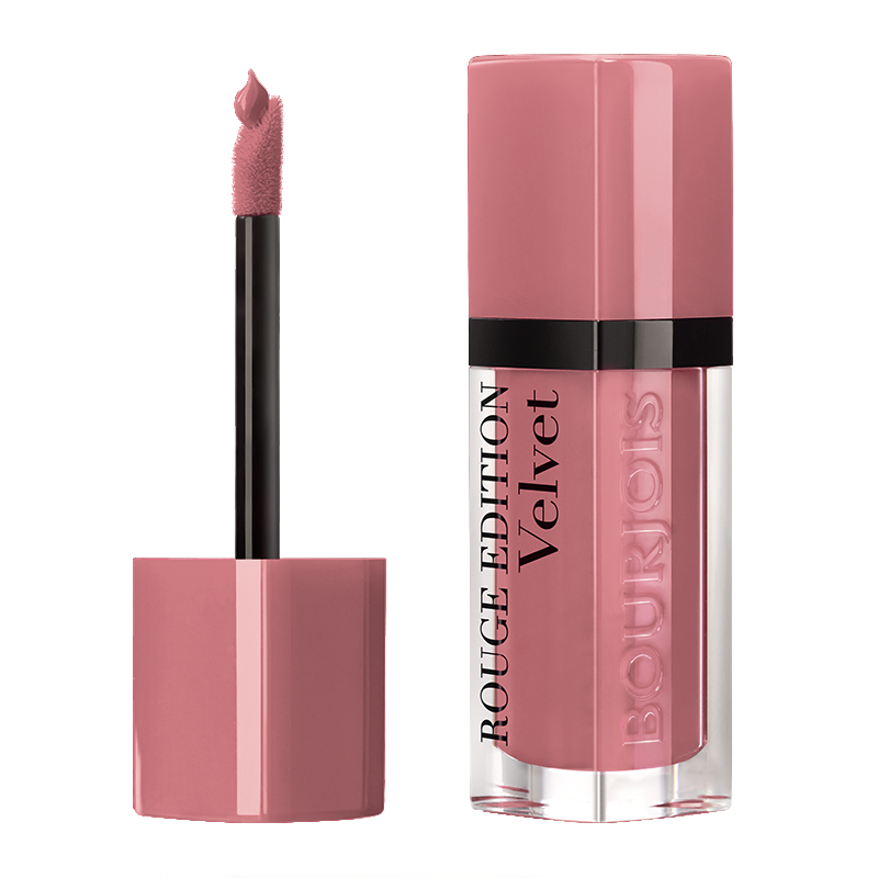 Bourjois Rouge Edition Velvet Matte Lipstick - Happy Nude year