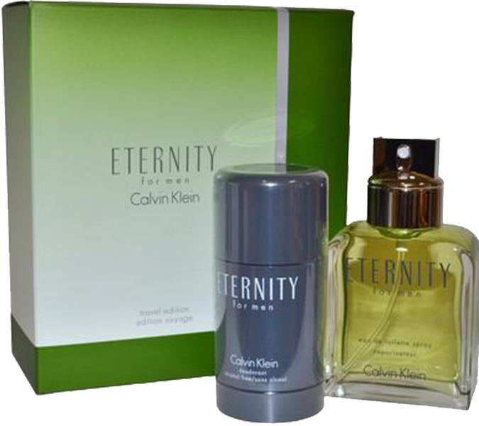 Calvin Klein Eternity for Men Gift Set-EDT 100ml + Deostick75ml