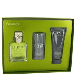 Calvin Klein Eternity Men Gift Set-EDT100ml+ASH balm100ml +75gDeostick