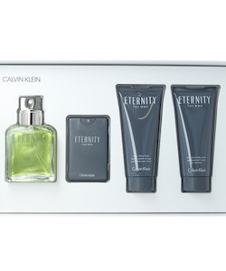 Calvin Klein Eternity Men Gift Set-EDT100ml+EDT20ml+ASHbalm100ml+SG100ml