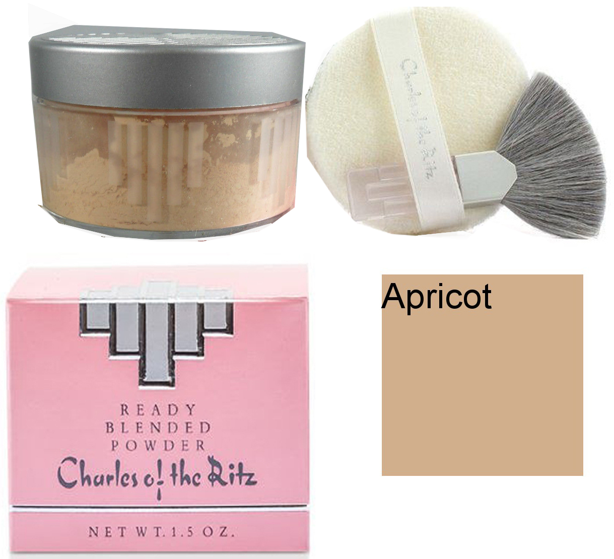 Charles of the Ritz Custom Blended Powder - Apricot