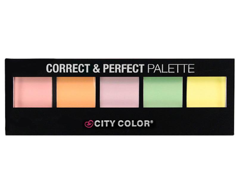 City Color Cream Correct & Perfect Palette -Conealer&contouring