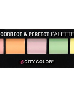City Color Cream Correct & Perfect Palette -Conealer&contouring