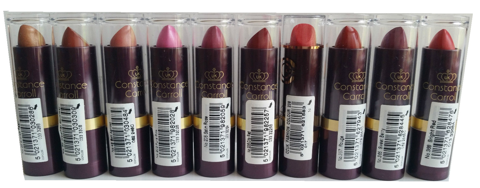 Constance Carroll UK Fashion Colour Lipstick - 66 Healthy Shimmer