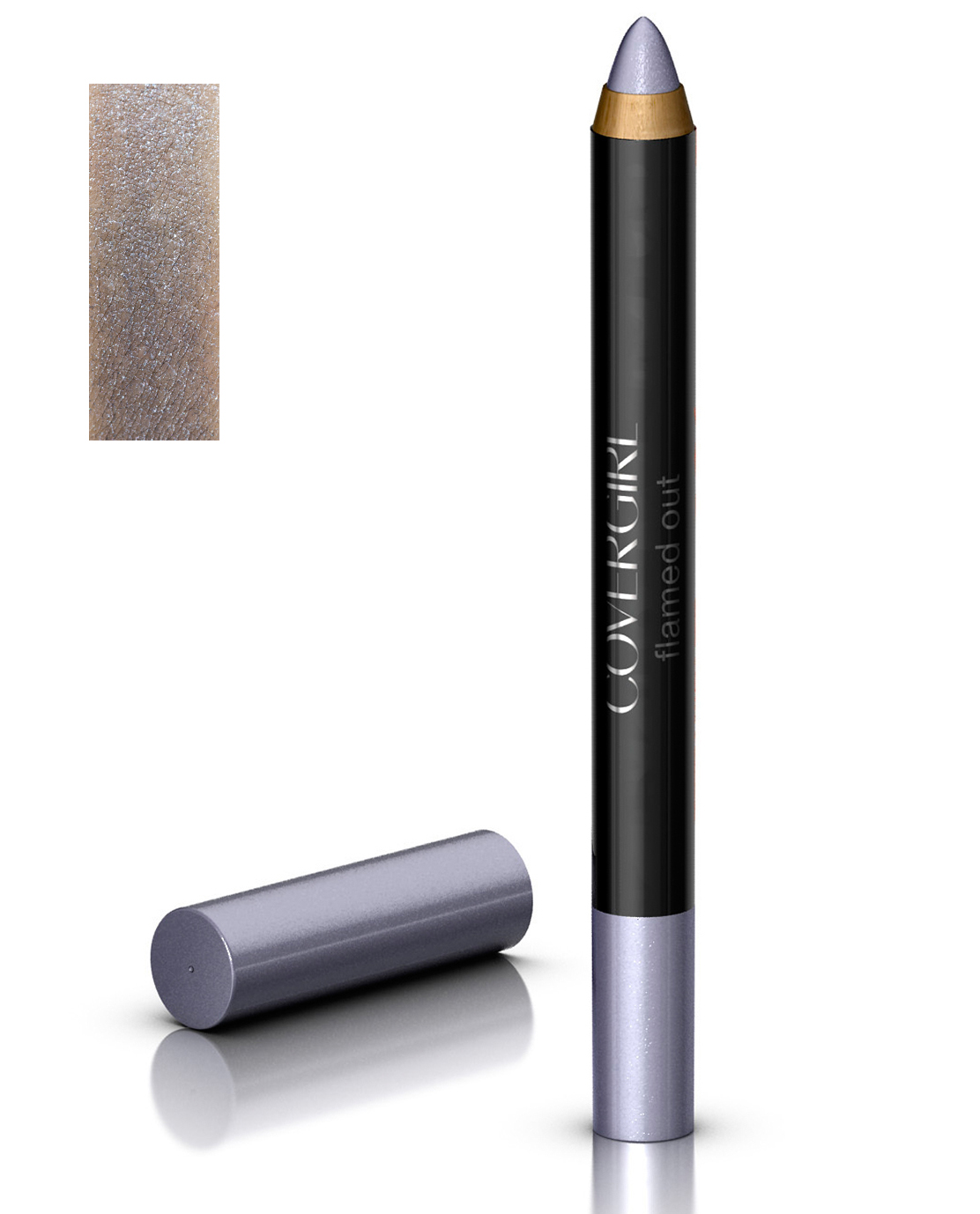 Covergirl Flamed Out Eyeshadow Pencil  - 300 Silver Flame