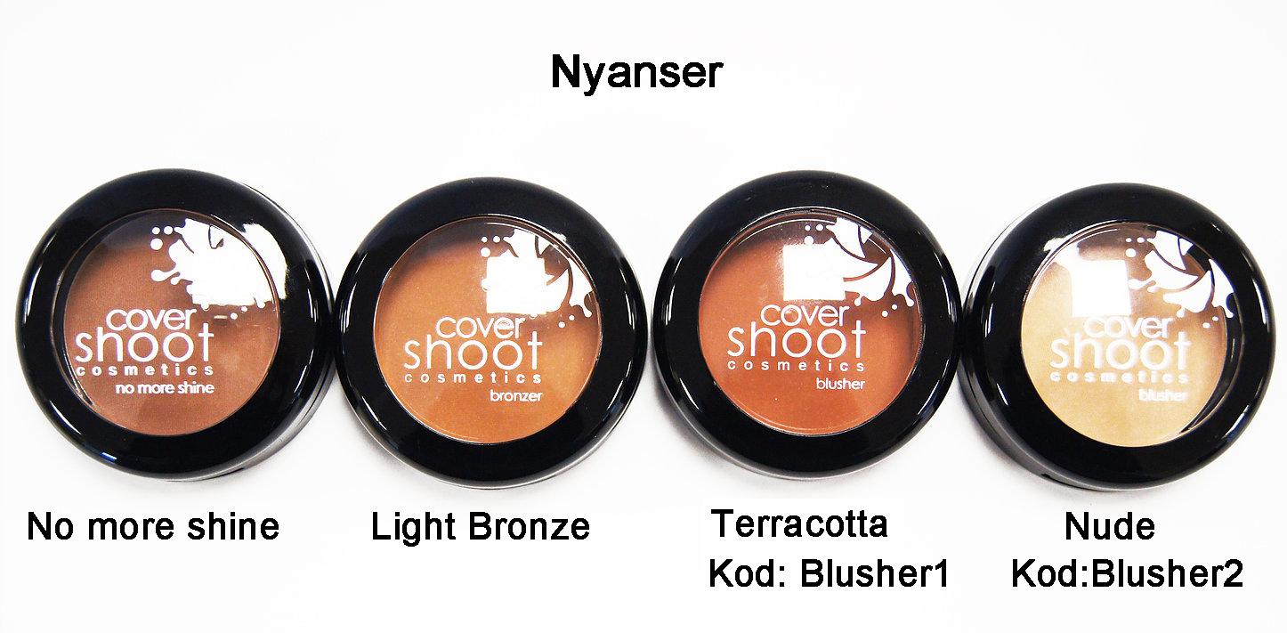 CoverShootNoMoreShineBlusher - Light Bronze